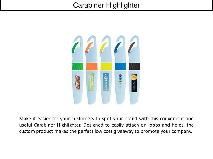 Carabiner Highlighter