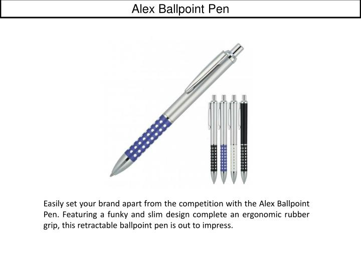 Alex Ballpoint Pen