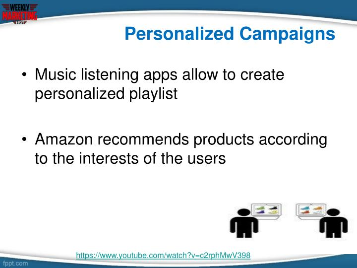 Personalized Campaigns
