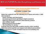 eco 372 tutor possible everything eco372tutor com27