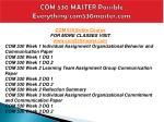 com 530 master possible everything com530master com1