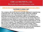 com 530 master possible everything com530master com21