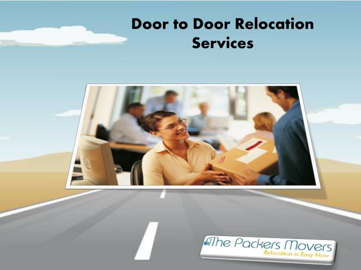 Door to Door Relocation Services