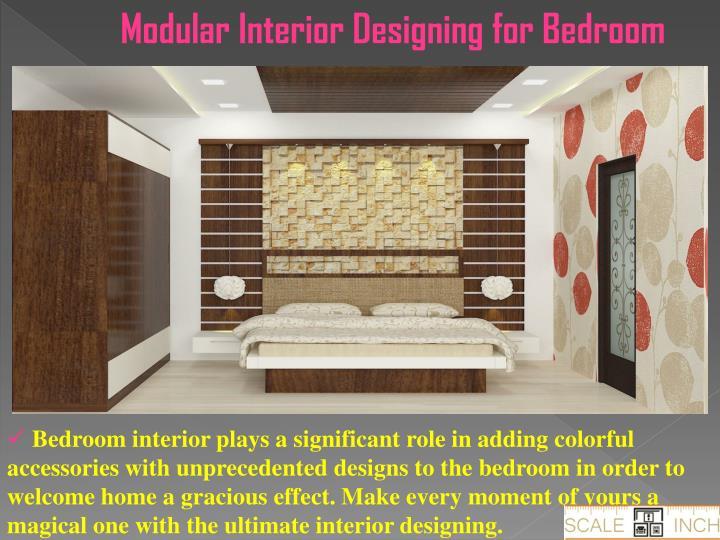 Modular Interior Designing for Bedroom