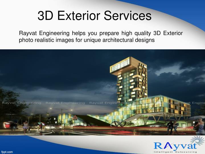 3D Exterior Services