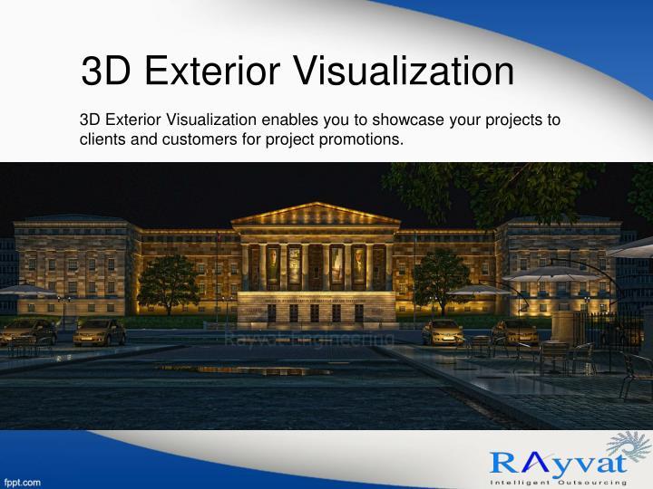 3D Exterior Visualization