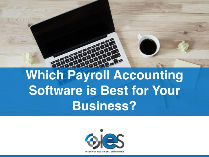 Which Payroll Accounting