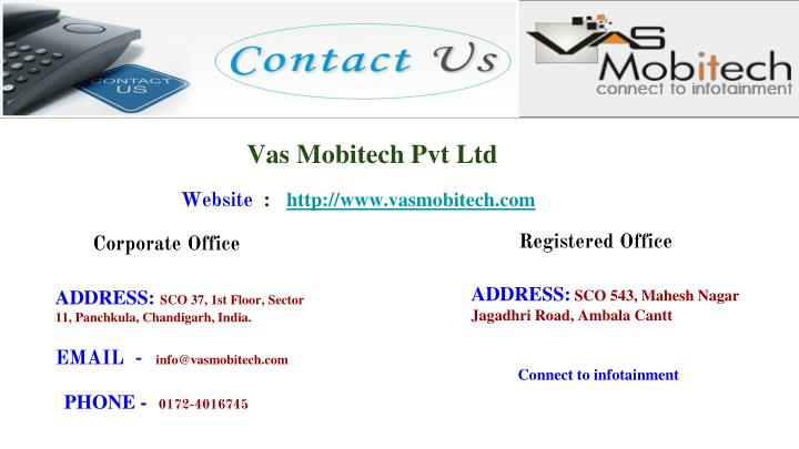 Vas Mobitech Pvt Ltd