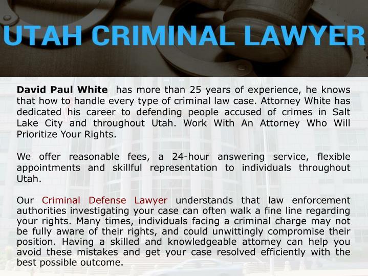 David Paul White