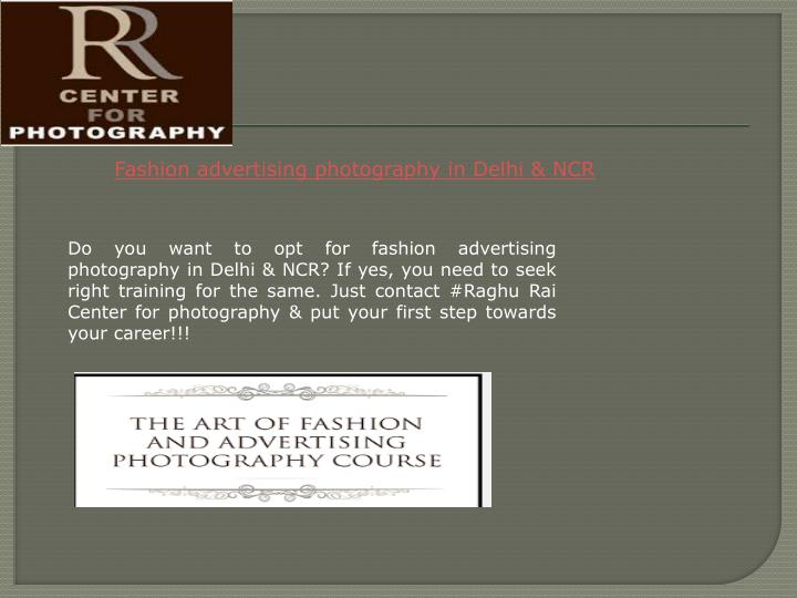 Fashion advertising photography in Delhi & NCR