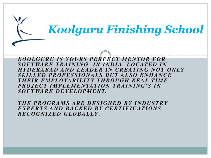 Koolguru finishing school