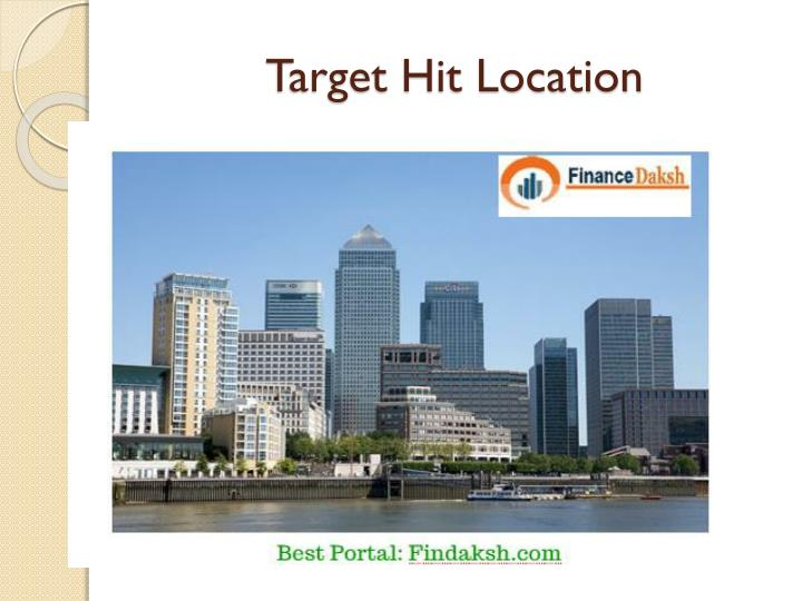 Target Hit Location
