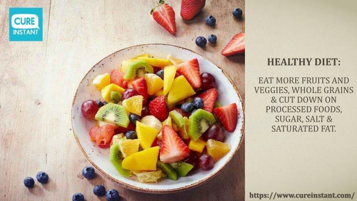 Healthy Diet: