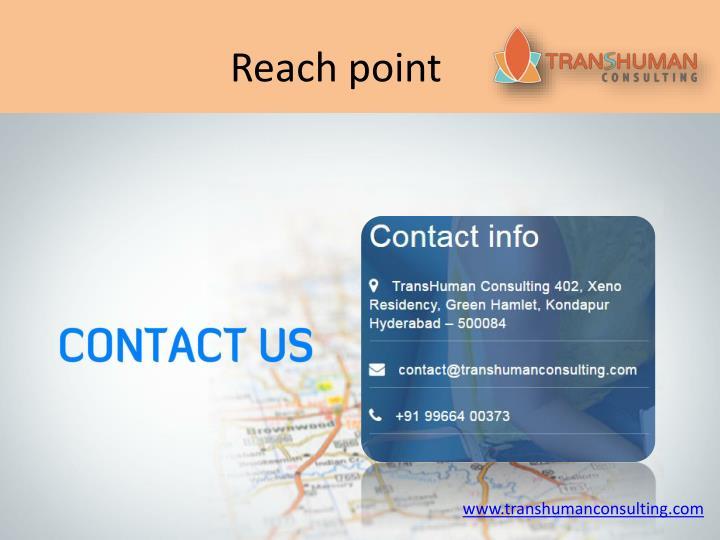 Reach point