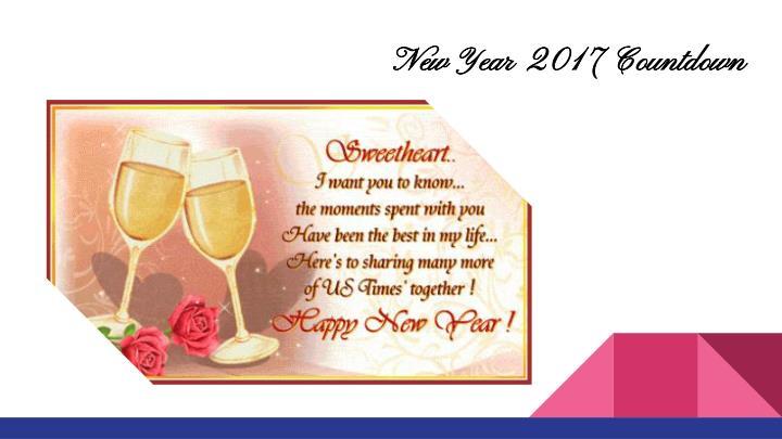 New Year 2017 Countdown