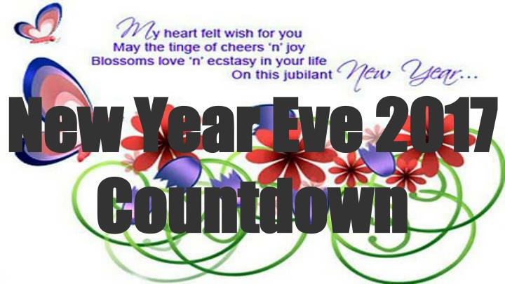 New Year Eve 2017 Countdown