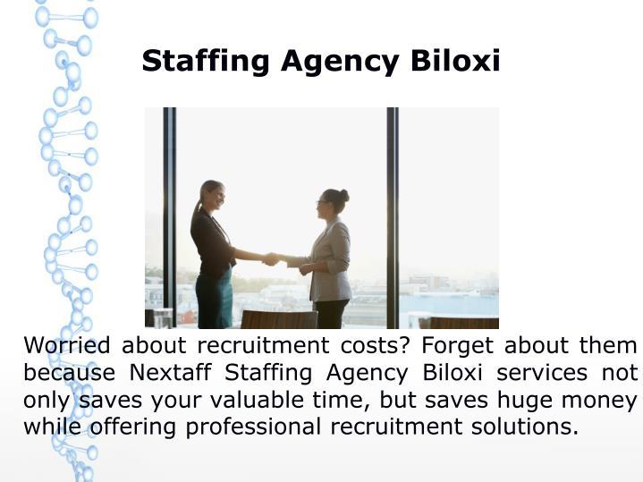 Staffing Agency Biloxi