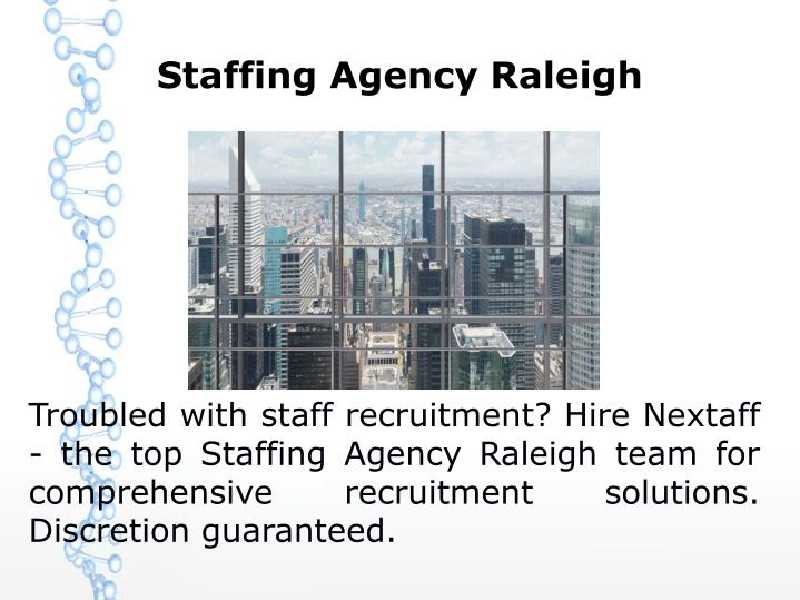 Staffing Agency Raleigh