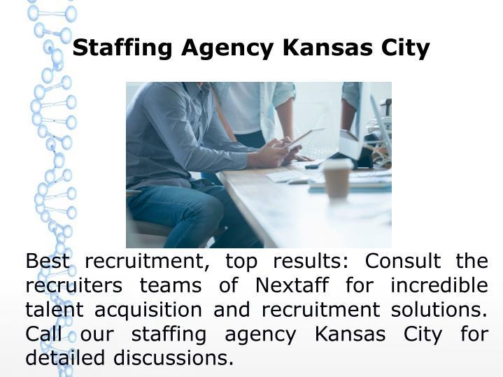 Staffing Agency Kansas City