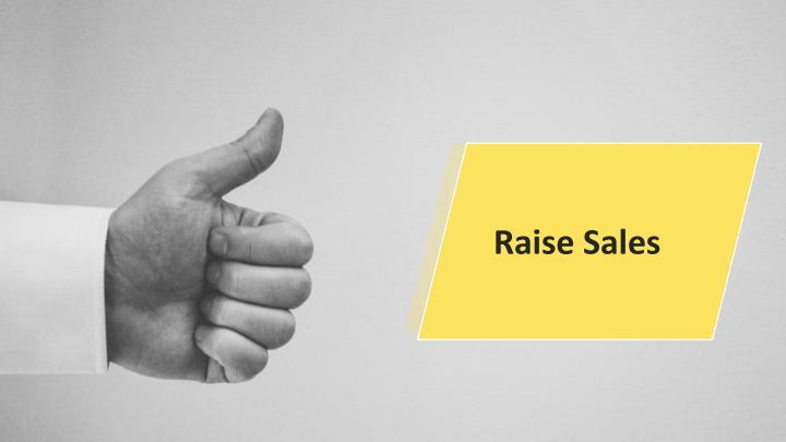 Raise Sales
