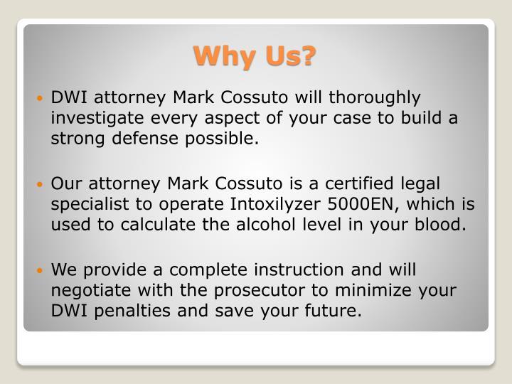 DWI attorney Mark