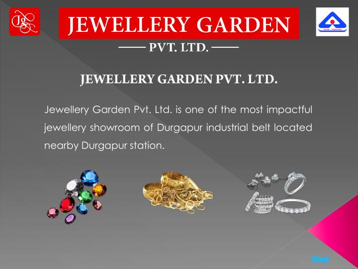 JEWELLERY GARDEN PVT. LTD.