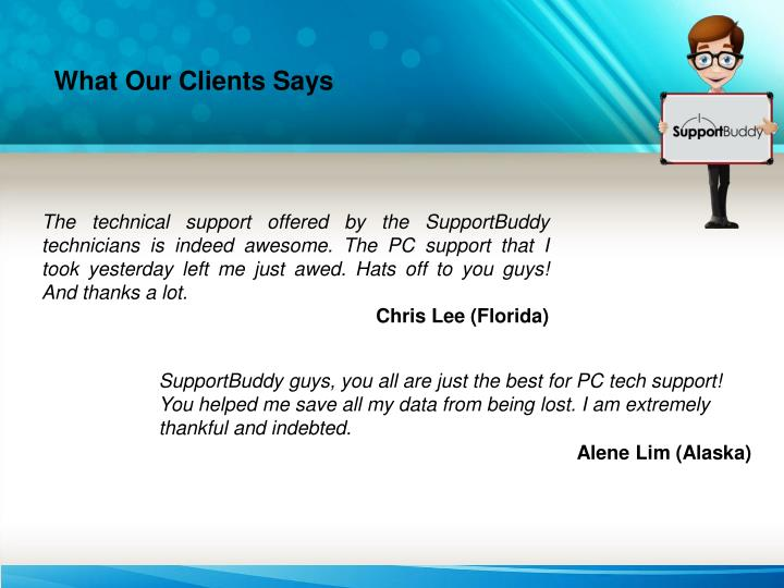 What Our Clients Says