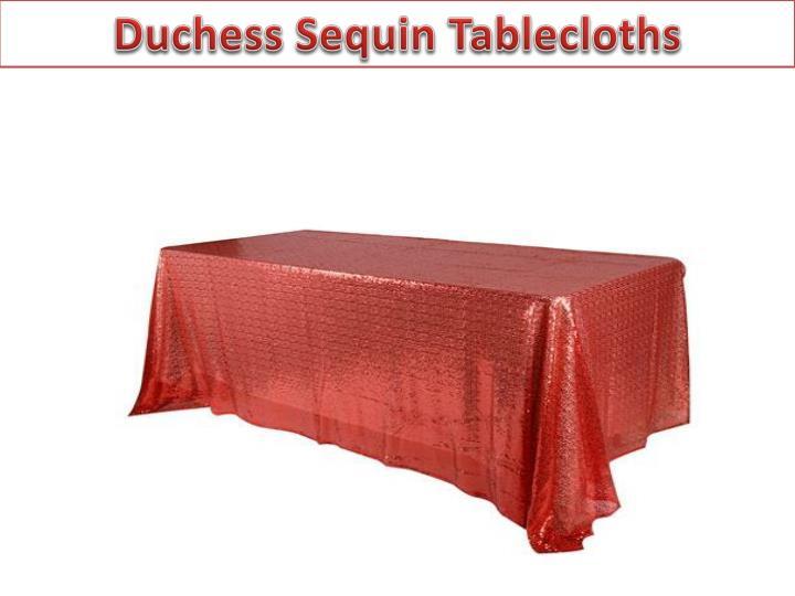 Duchess Sequin Tablecloths