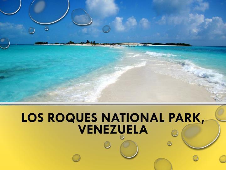 Los Roques National Park, Venezuela