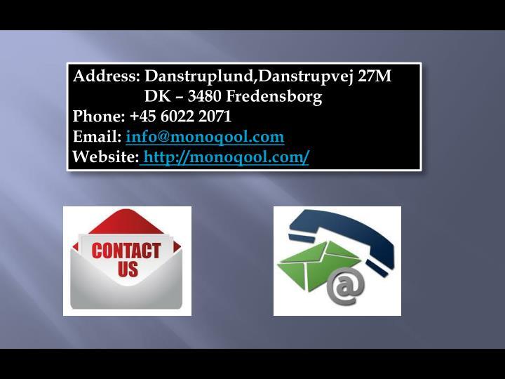 Address: Danstruplund,Danstrupvej 27M