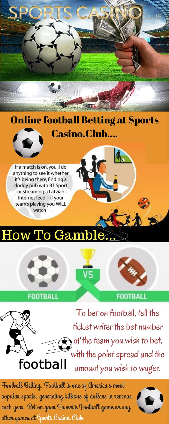 Online football Betting at Sports