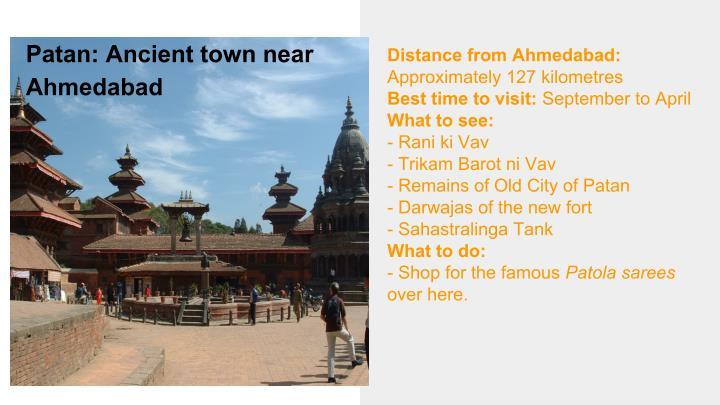 Patan: Ancient town near