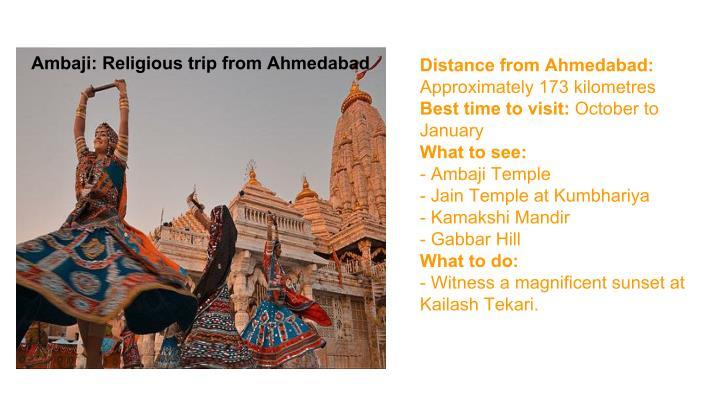 Ambaji: Religious trip from Ahmedabad