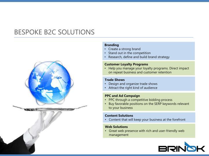 BESPOKE B2C SOLUTIONS