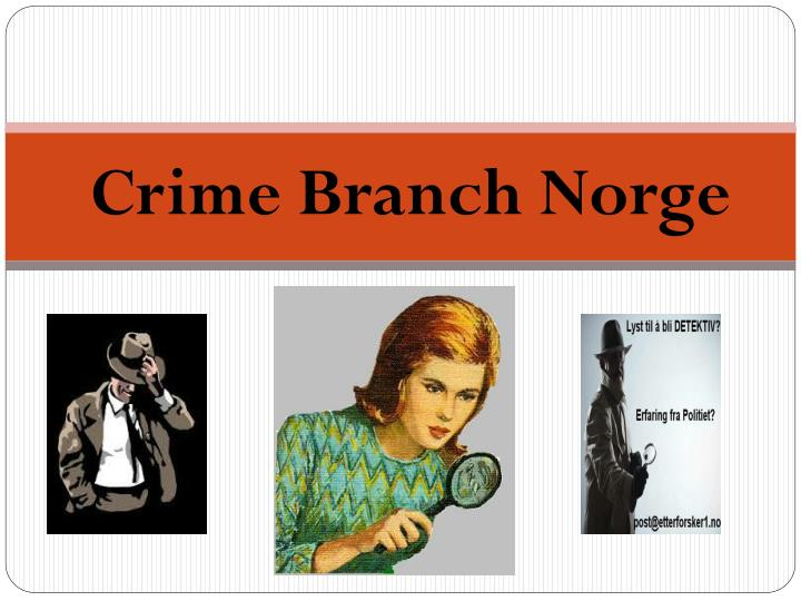 Crime Branch Norge