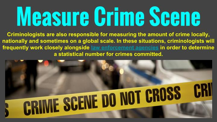 Measure Crime Scene
