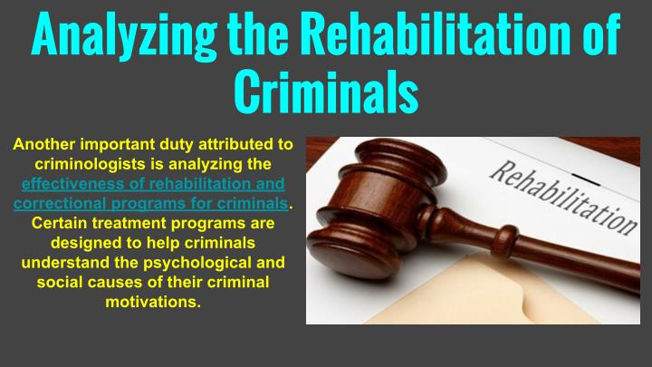Analyzing the Rehabilitation of