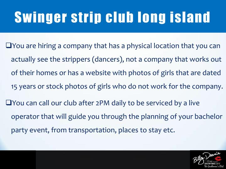 Swinger strip club long island