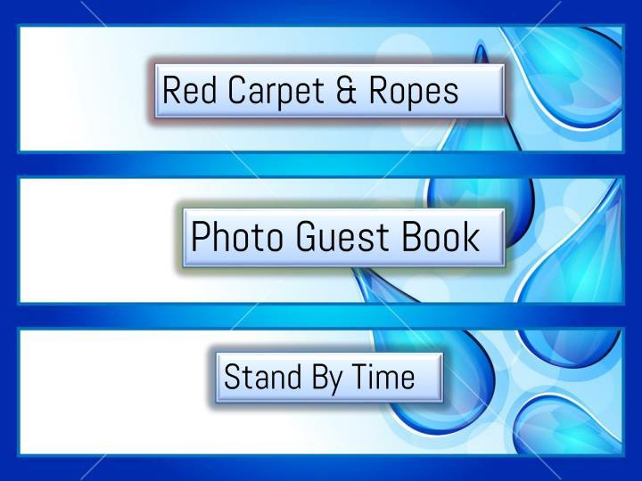 Red Carpet & Ropes