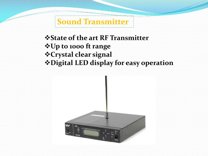 Sound Transmitter