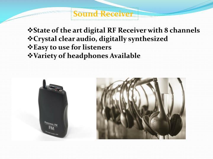 Sound Receiver