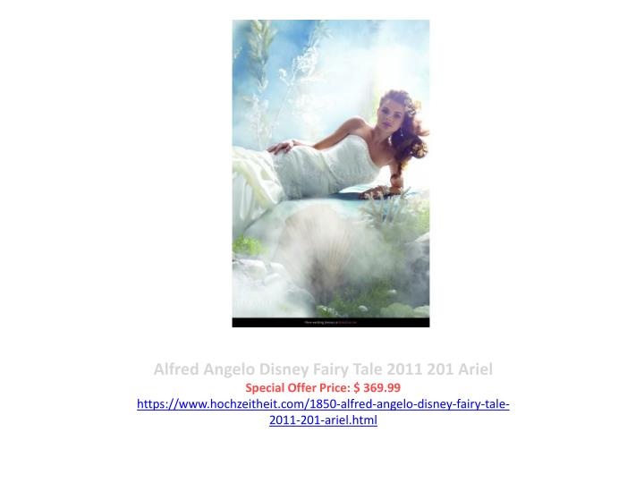 Alfred Angelo Disney Fairy Tale 2011 201 Ariel