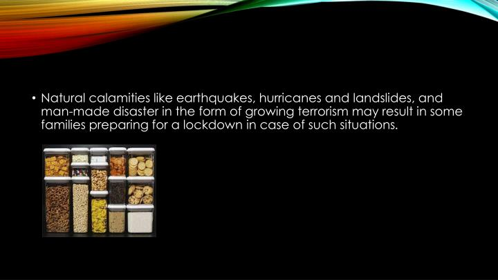 Natural calamities like earthquakes, hurricanes and landslides, and man-made disaster in the form of...