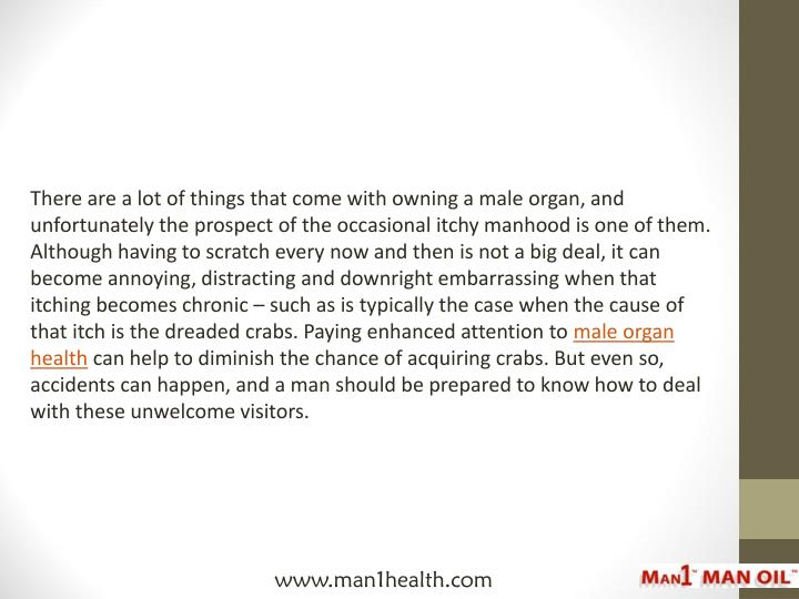 There are a lot of things that come with owning a male organ, and unfortunately the prospect of the ...