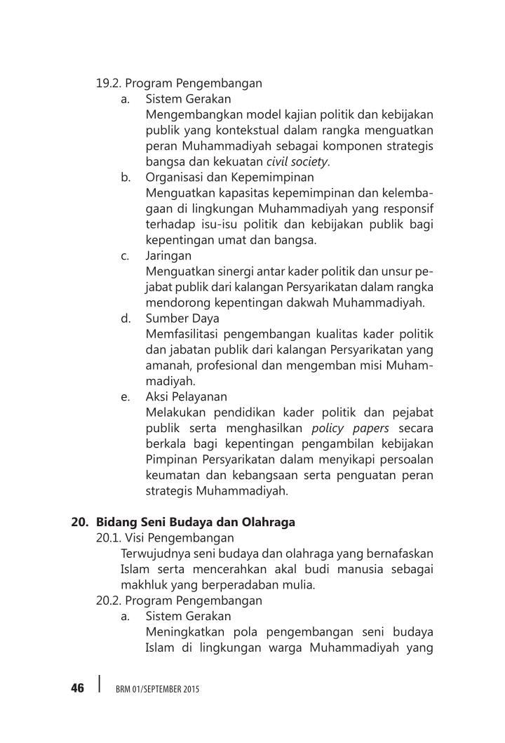 19.2. Program Pengembangan