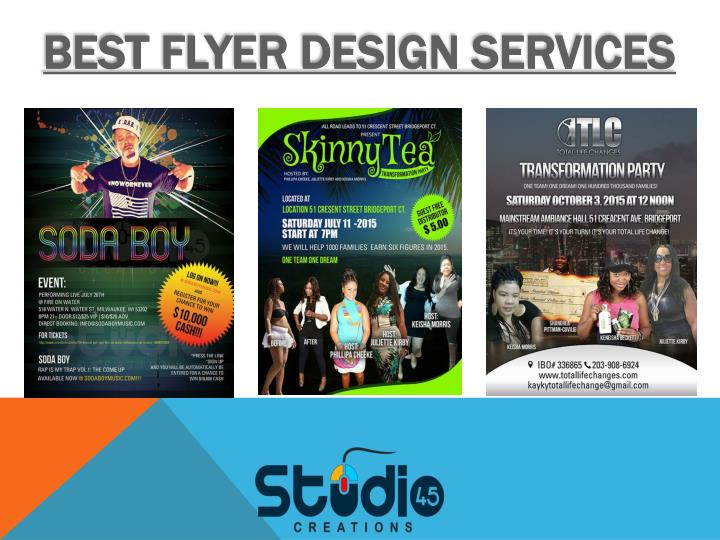 Best flyer design services