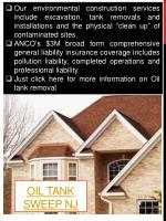 oil tank sweep nj2