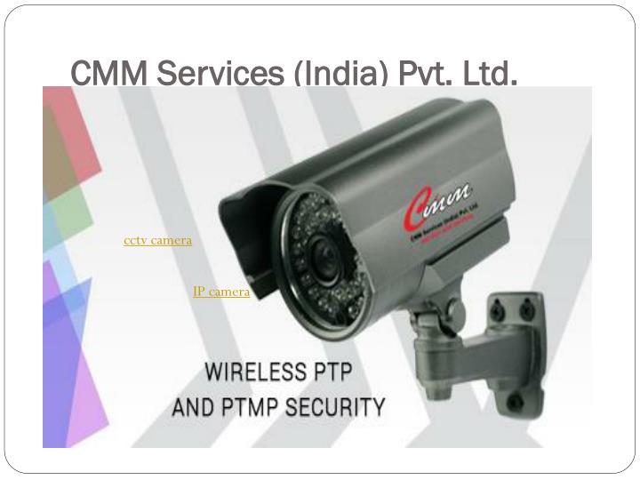 Cmm services india pvt ltd