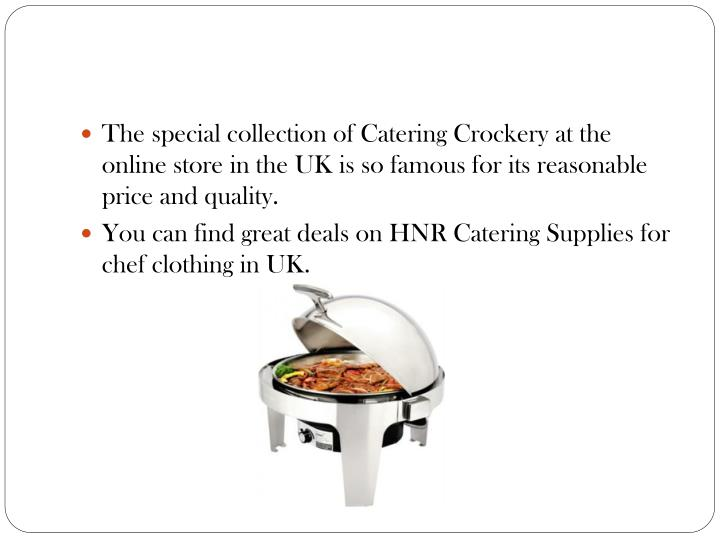 The special collection of Catering Crockery at the online store in the UK is so famous for its reasonable price and quality.
