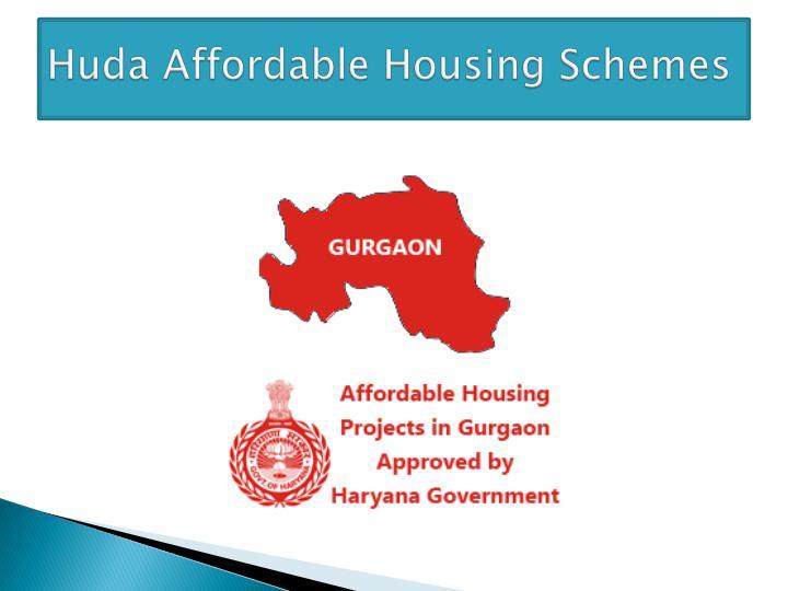 Huda Affordable Housing Schemes